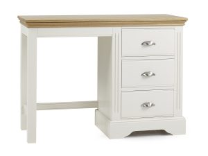 Elderflower Single Pedestal Dressing Table