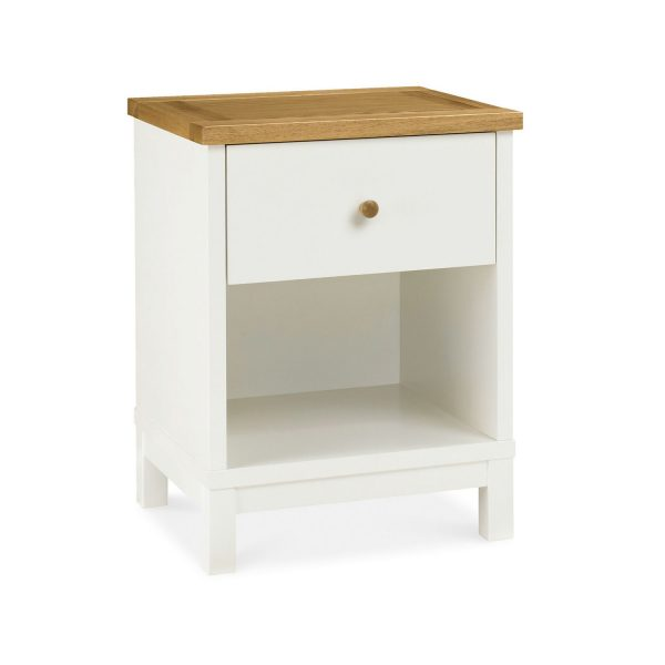 Sopha Thyme 1 Drawer Nightstand Vanilla & Oak