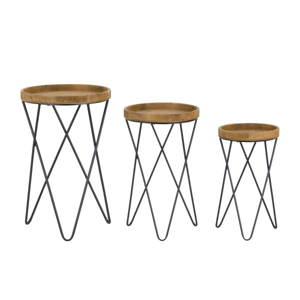 Eddleston set of 3 tables