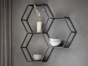 Hive metal wall storage