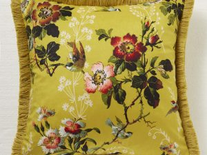Leighton Ochre cushion