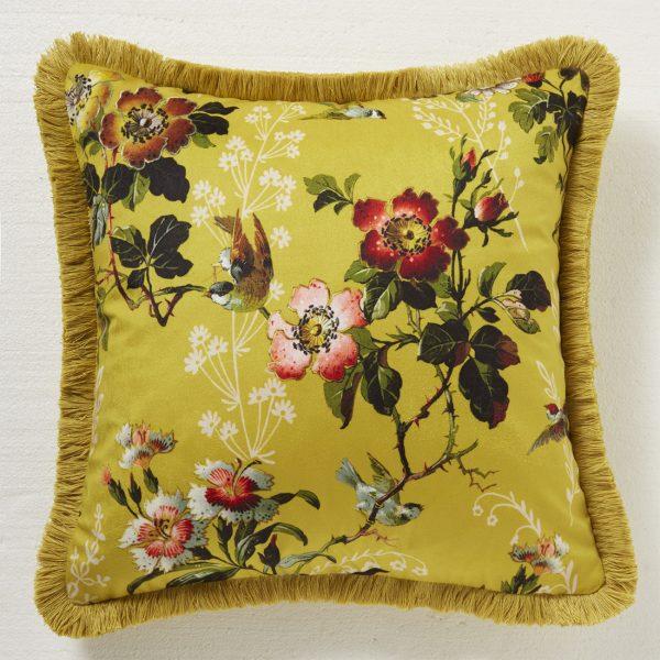 Leighton Ochre cushion