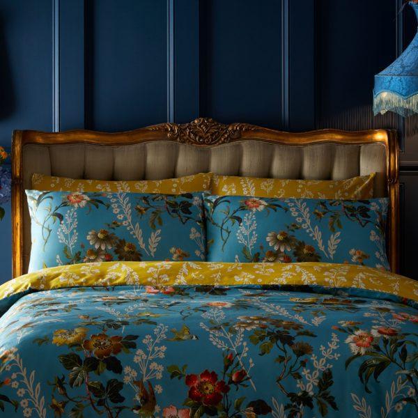 Oasis leighton multi floral pillowcase pair set