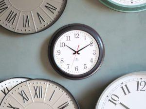 Bucharest Grey Wall Clock W41 D8 H41