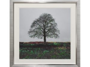 Distant Memory - Liquid Art Tree Landscape 67 x 67cm