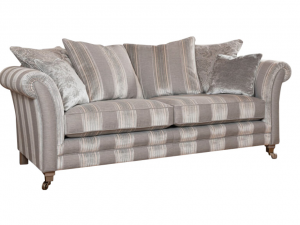 Eccles 3 seater pillow back sofa