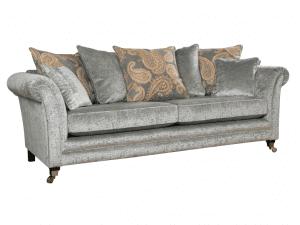 Eccles 4 seater pillow back sofa