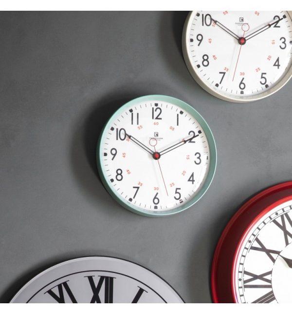 Kampala Aquamarine Wall Clock W30 D6 H30