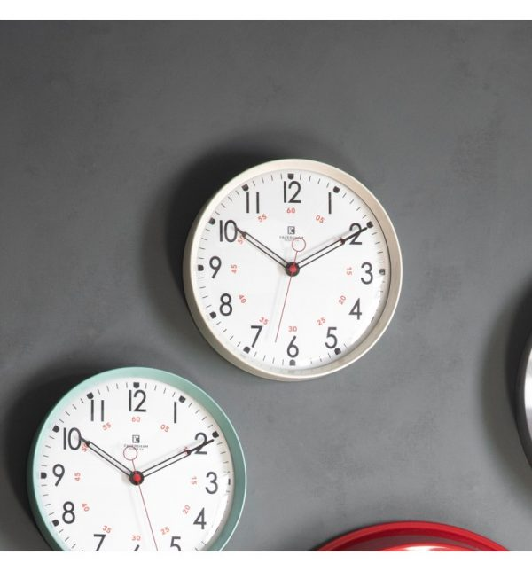 Kampala Cream Wall Clock W30 D6 H30