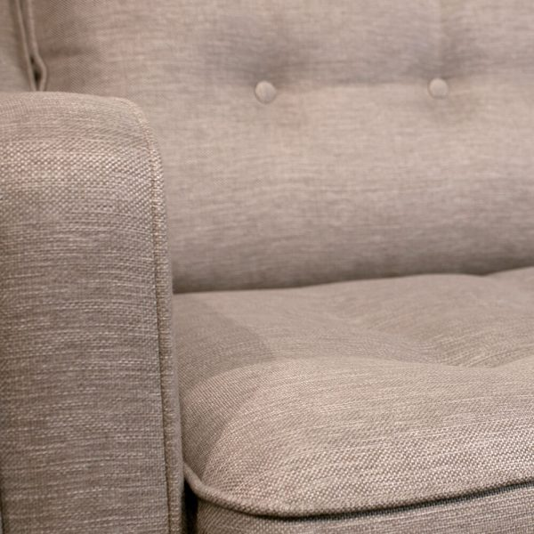 Sopha Madeira sofa arm and seat detail