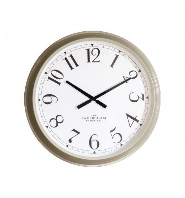 Zurich Khaki green safari wall clock W68 D11 H68