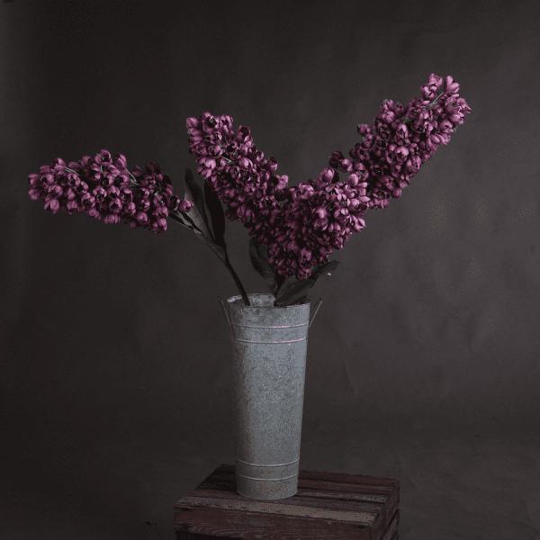 faux Purple Phoenix Flower