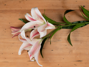 faux lily flower