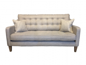 Madeira 2 seater sofa in Suma Silver
