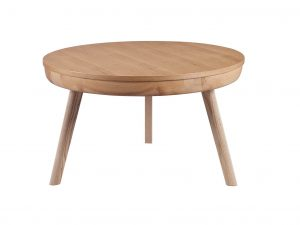 Zest lemon coffee table in oak ash finish
