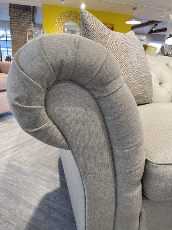 large popcorn sofa arm