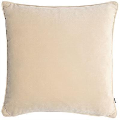champagne velvet cushion