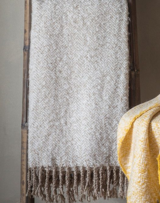 savannah throw taupe