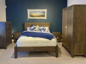 Ex-display Avocado Dark Oak bedroom set