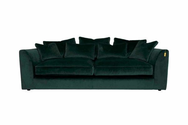 Gateaux Large Sofa in Malta Jasper Velvet