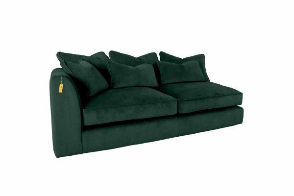Gateaux Modular LHF 2 Seat 1 arm Corner Sofa Module in Malta Jasper Velvet