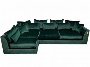 Gateaux RHF Combi Corner Sofa in Malta Jasper Velvet