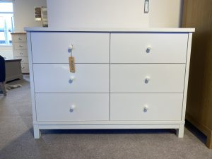 sopha thyme vanilla 6 drawer wide chest
