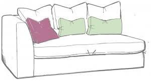 Gateaux LHF 1 arm small sofa unit