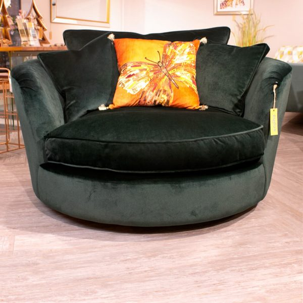 Sopha Gateaux Swivel Cuddler Chair