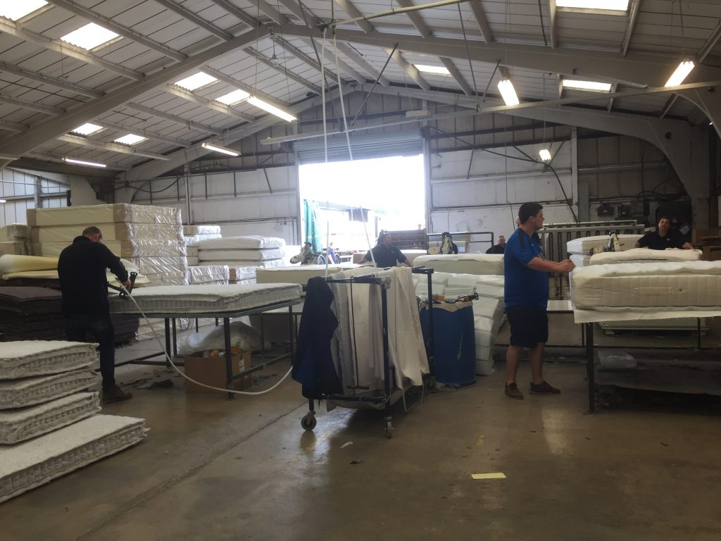 Wiltshire bed factory
