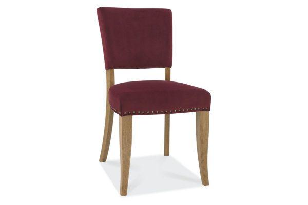Tarragon Chair - Upholstered Chairs - Crimson Velvet