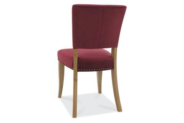 Tarragon Chair - Upholstered Chairs - Crimson Velvet - Back