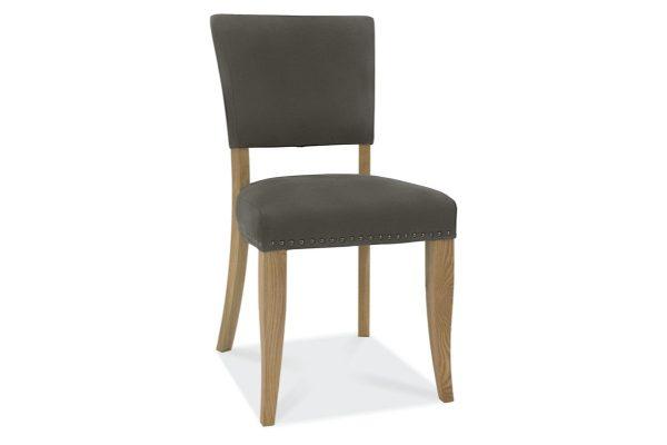 Tarragon Chair - Upholstered Chairs - Dark Grey Velvet