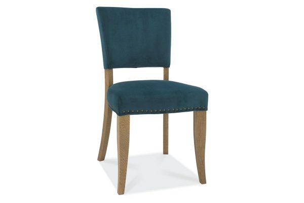 Tarragon Chair - Upholstered Chairs - Sea Green Velvet