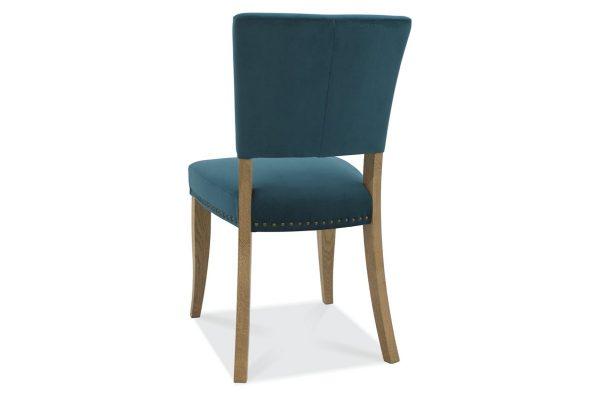 Tarragon Chair - Upholstered Chairs - Sea Green Velvet - Back