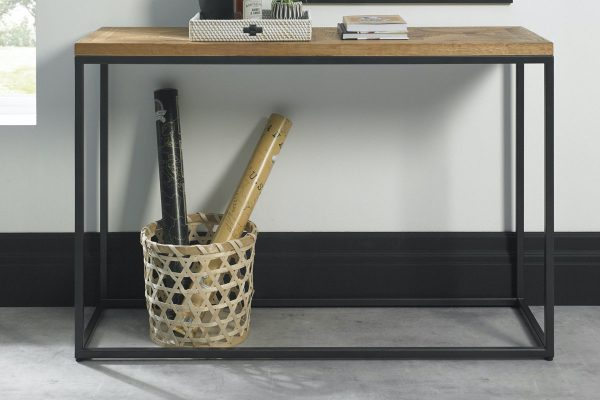 Tarragon Console Table - Roomset