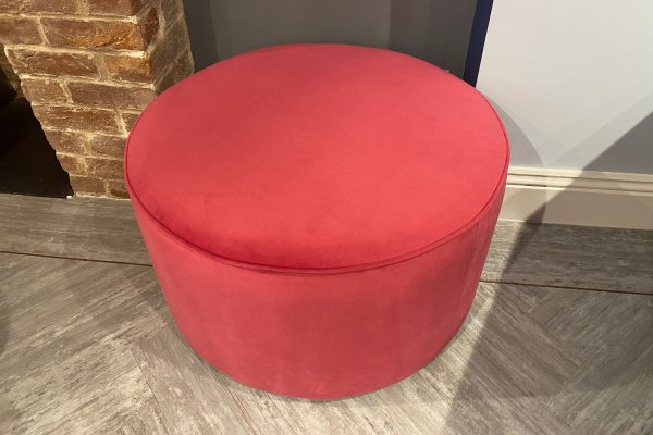 Jelly Tot Large Stool in Velvet Peony