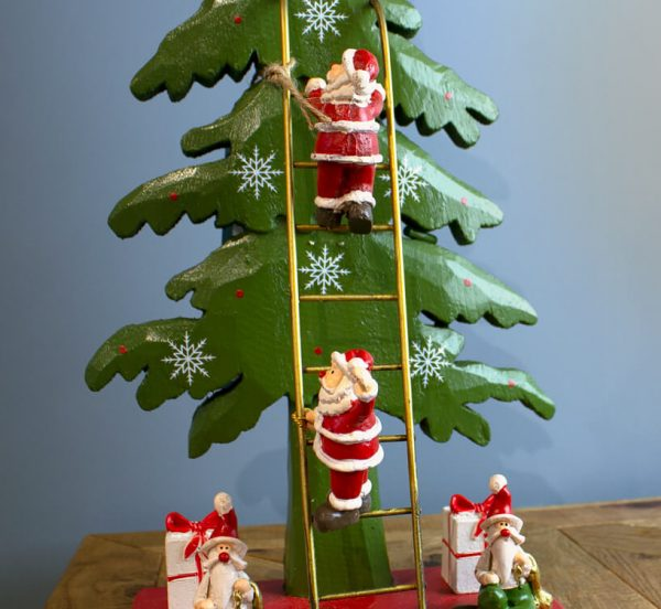 Sopha Sherrifs Christmas Tree with Ladder