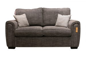 Galaxy 2 Seater Sofa Charcoal