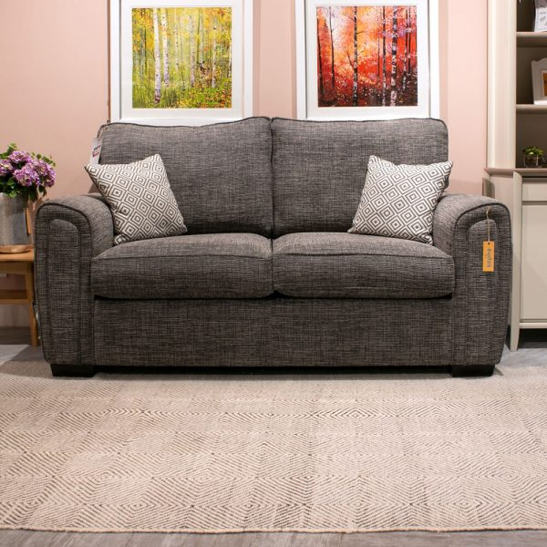 Sopha Galaxy 2 Seater Sofa in Charcoal