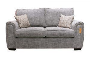 Galaxy 2 Seater Sofa Grey