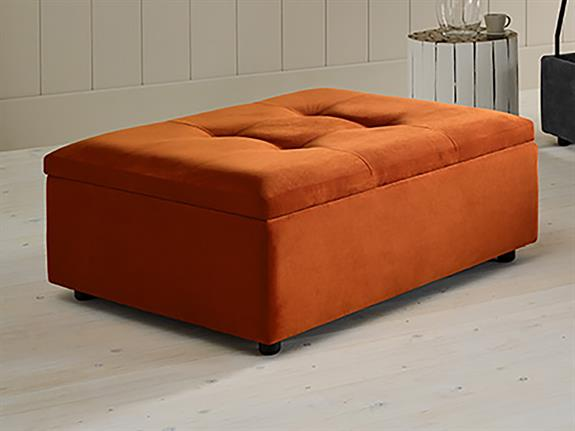 Shortbread Bed in a Footstool