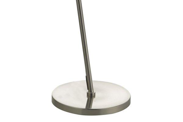Akiko Satin Chrome LED Floor Lamp Base