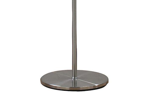 Albus Satin Chrome Floor Lamp Base Detail