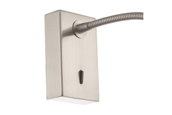 Ambert Satin Nickel Wall Light Switch