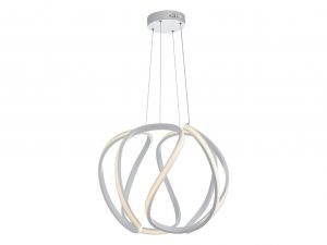 Apollo Large White LED Pendant
