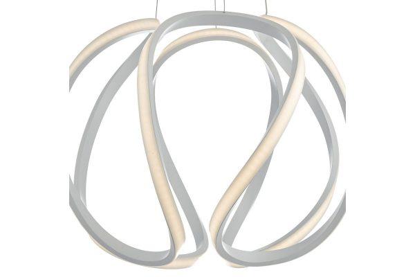 Apollo Large White LED Pendant Lamp Detail