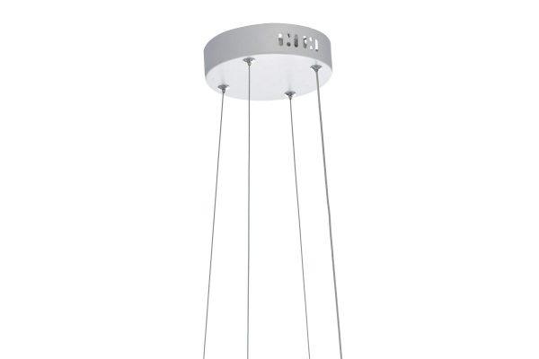 Apollo Large White LED Pendant Suspension Detail
