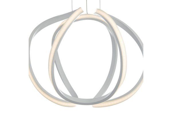 Apollo Small White LED Pendant Light Detail