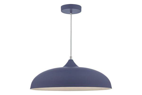 Avira Blue & White 1 Light Pendant